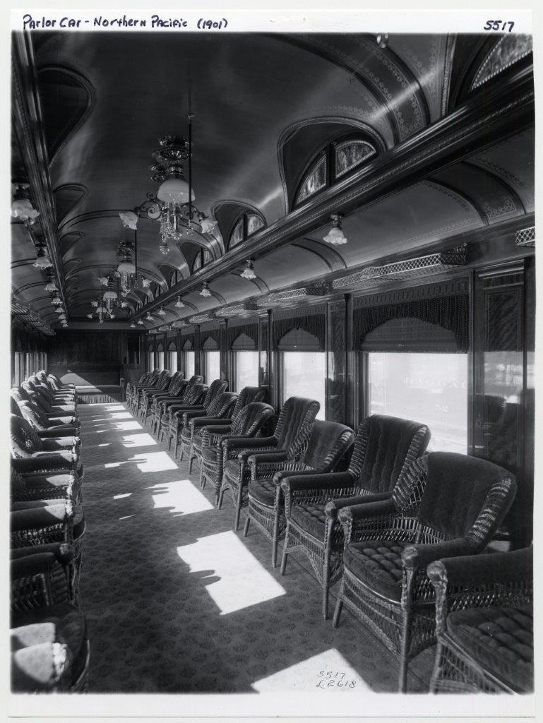LC parlor car photo